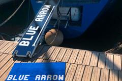 tappeto-per-barca-blue-arrow