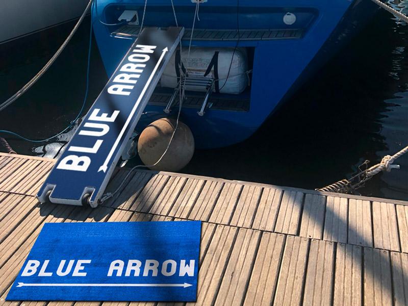 Foto barca Blue Arrow