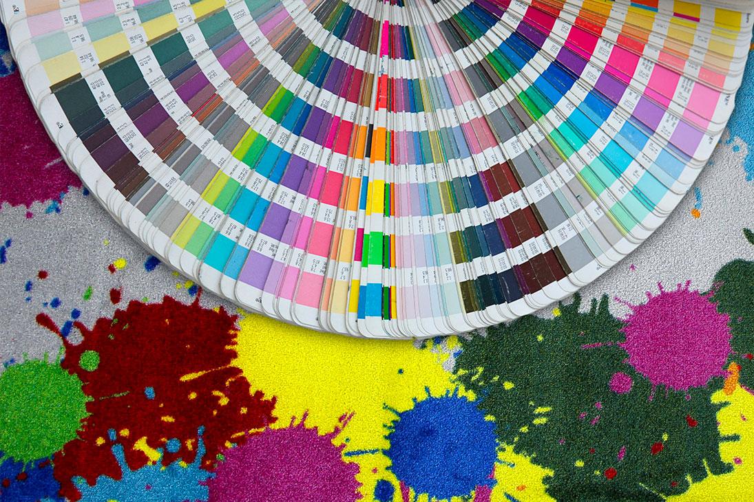 Splendid zerbino su misura ideale per promuovere colori a pantone