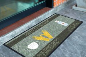 tappeto indicazioni sanitarie