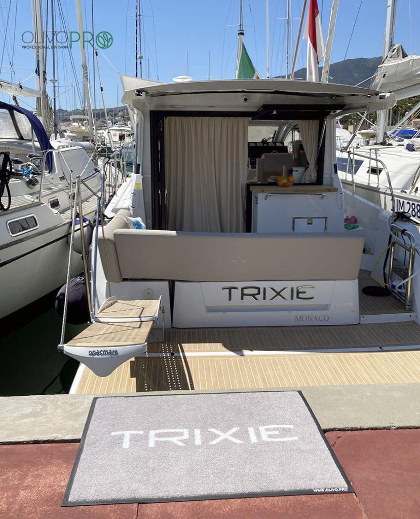 Zerbino nautico tappeto barca