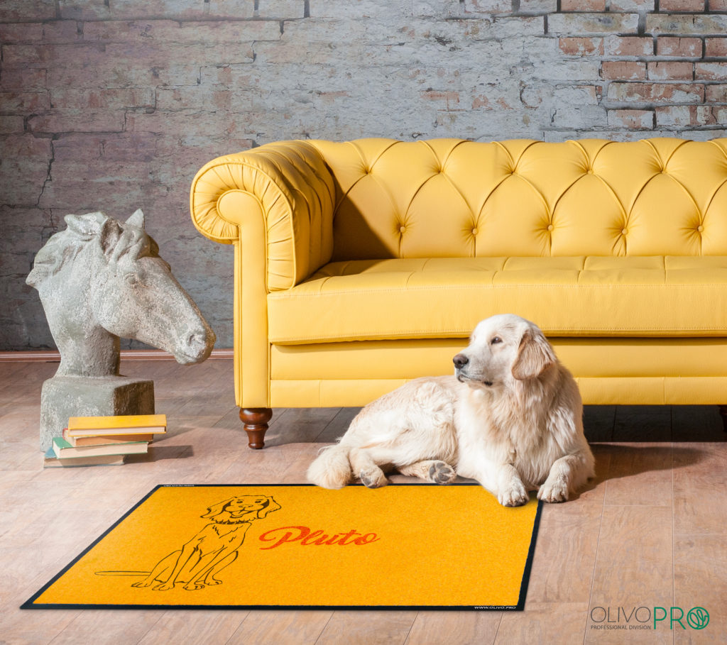 Tappeto per cane personalizzato